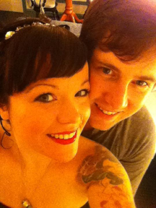 Allison Crowe & Adam Brake - New Years Eve 2011 - New Years 2012