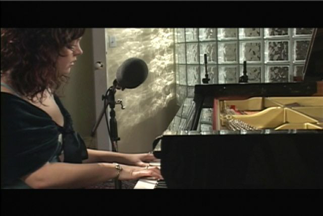 The First Noel performed by Allison Crowe live in the studio