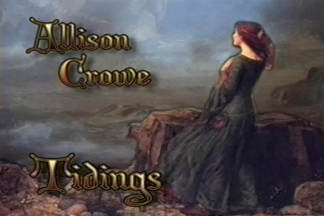 Allison Crowe Tidings - television special intro