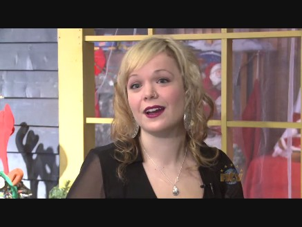 Allison Crowe - Corner Brook Tidings 2012 - NTV's Don Bradshaw