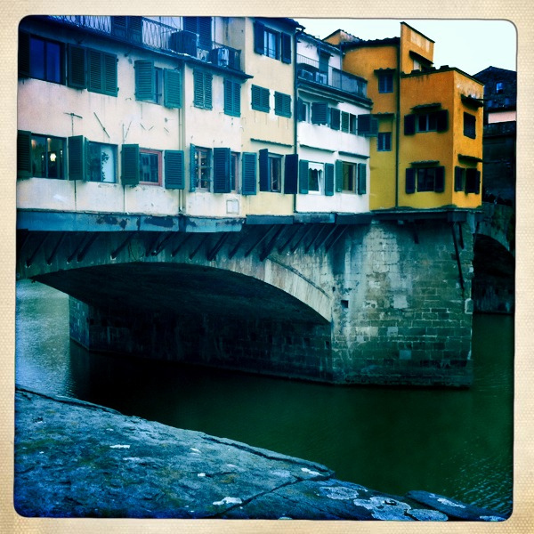 Florence Ponte Vecchio - photo by Allison Crowe