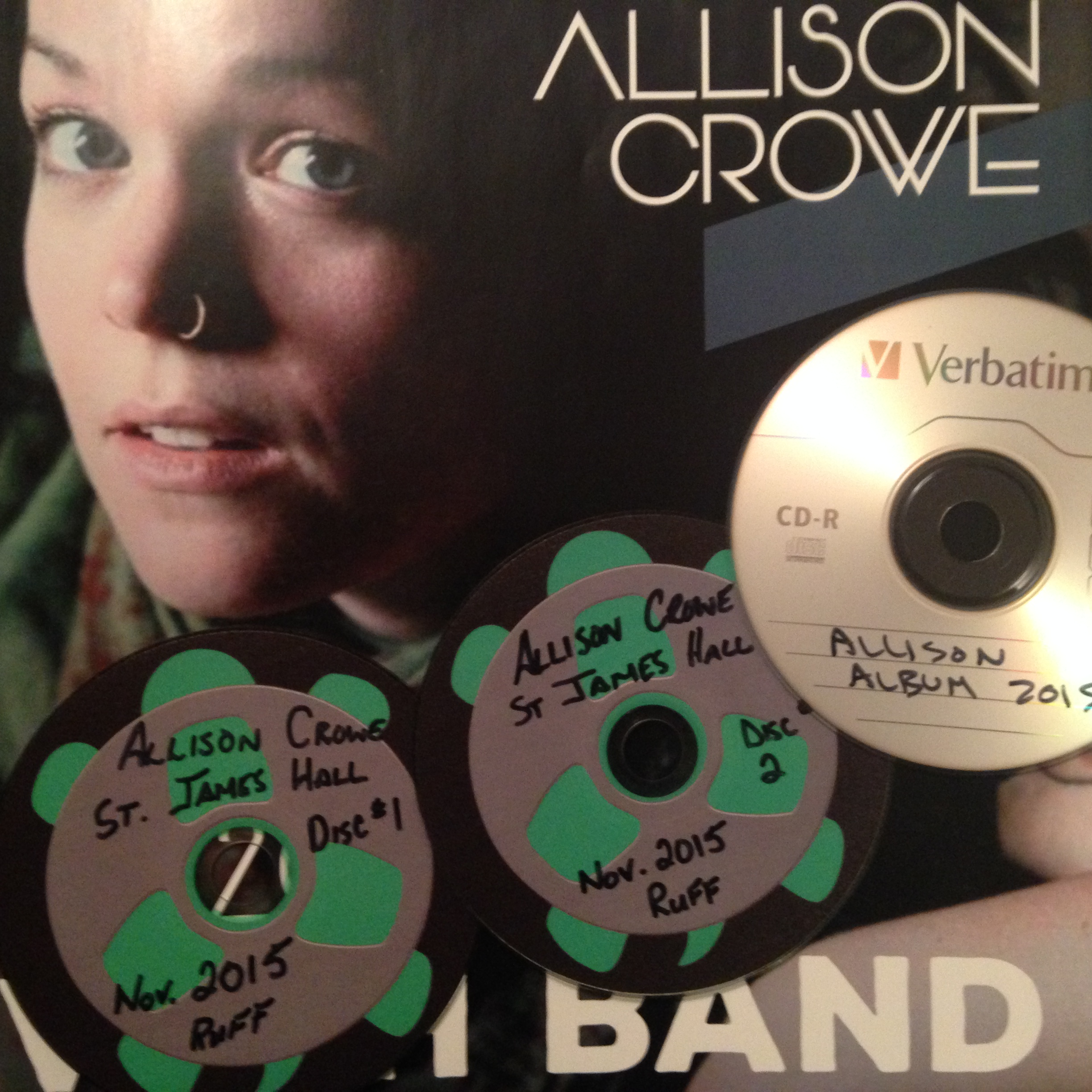 Introducing / Heirs & Grievances - Allison Crowe & Band - album - ruff mix