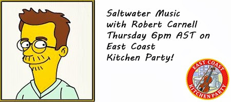Salt Water Music - Rob Carnell - CFRC + East Coast Kitchen Party