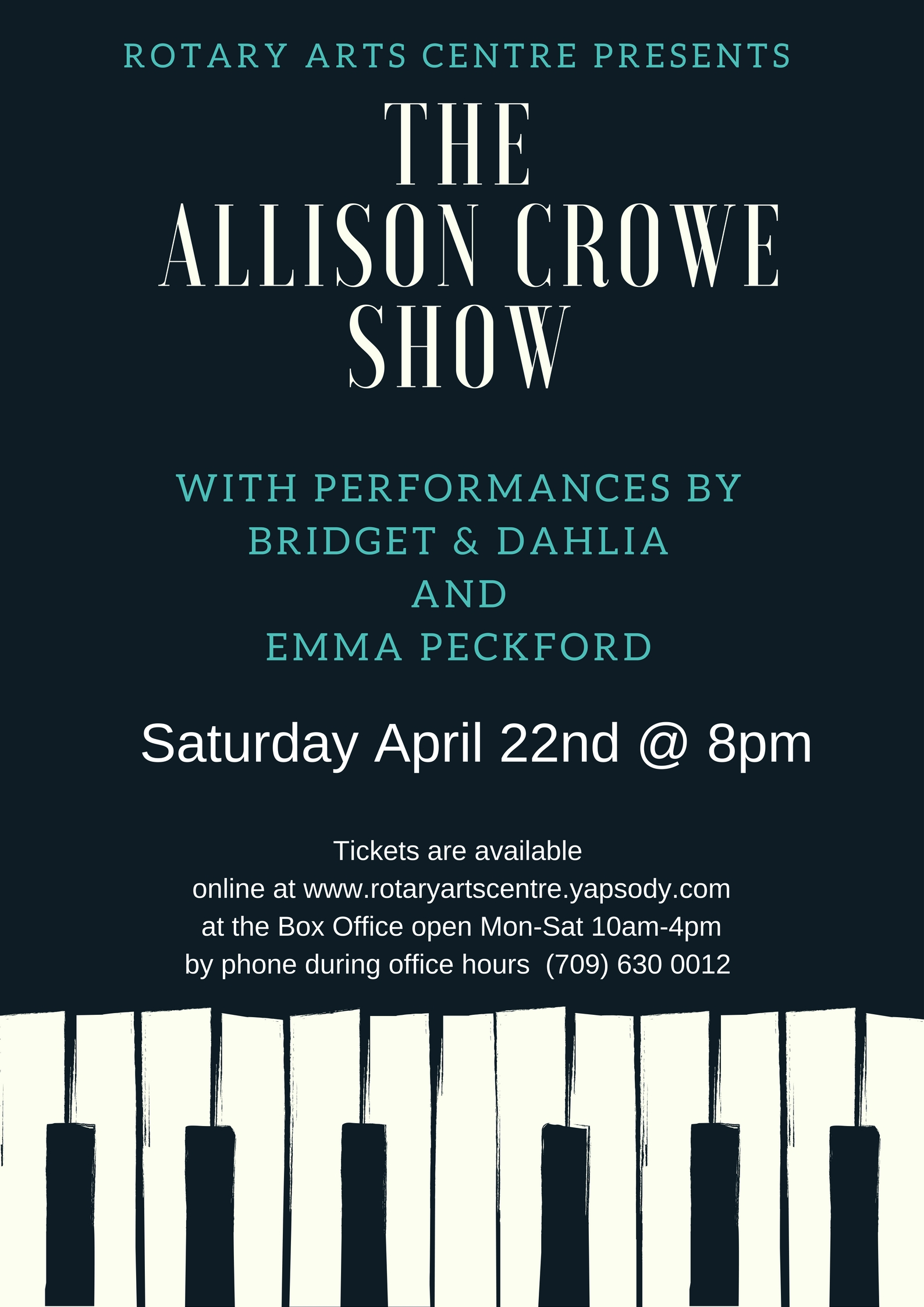 The Allison Crowe Show feat. Bridget & Dahlia, Emma Peckford