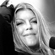 Fergie - Photograph by Associated Press