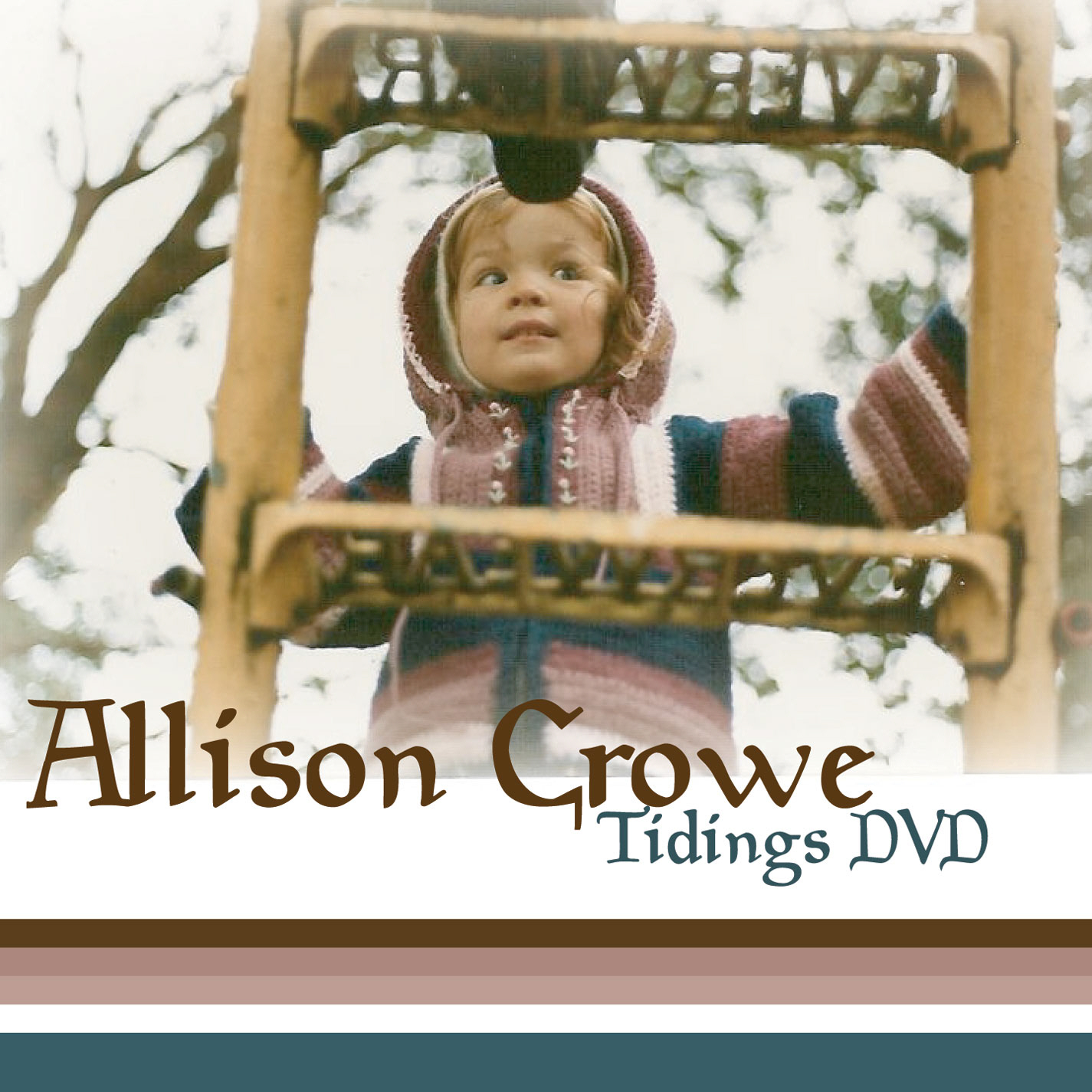 Tidings Fan Club DVD - Allison Crowe - cover
