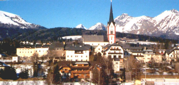 Mariapfarr, Austria - from where emerged Silent Night; Joseph Mohr  created the carol in 1816, and first performed it publicly with Franz Xaver Gruber on Christmas Eve 1818
