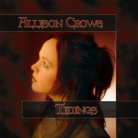 Allison Crowe Tidings CD cover art